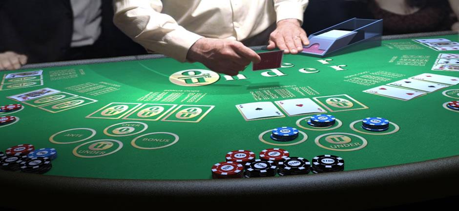 playing casino slots